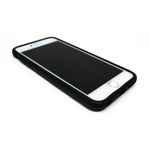 "Custodia Posteriore iPhone 6 Plus 5.5"" Back Cover Stand Rigida Nero"