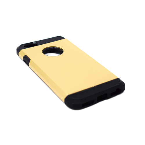 "Custodia Posteriore iPhone 6 6s 4.7"" Hard Back Cover Shockproof Oro"