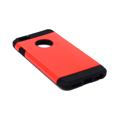 "Custodia Posteriore iPhone 6 6s 4.7"" Hard Back Cover Shockproof Rosso"