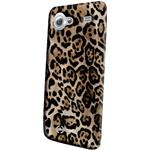 Celly Custodia per Samsung Galaxy S Advance Back Cover TPU Leopardata