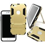 "Custodia Posteriore per iPhone 6 Plus 5.5"" Back Cover Stand Rigida Oro"