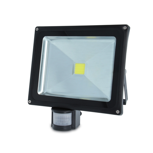 Forever Light Faro LED 84611 Faretto da Esterno con Sensore Movimento IP65 30W ECO HOME LINE 6500K