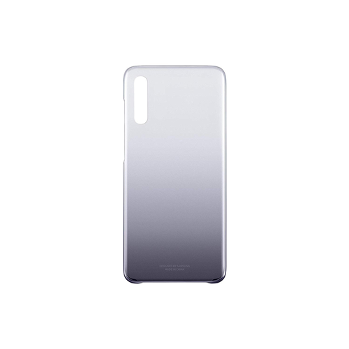 Cover per Samsung Galaxy A70 Nero Gradation Custodia Posteriore Originale