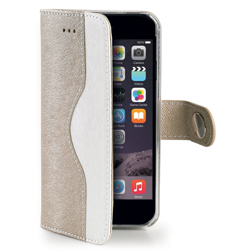 Celly Custodia iPhone 6 6s Plus 5.5 Wallet con Cover Staccabile