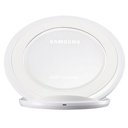 Caricatore Wireless Fast Charge Samsung Galaxy S7 S7 Edge Bianco Usato