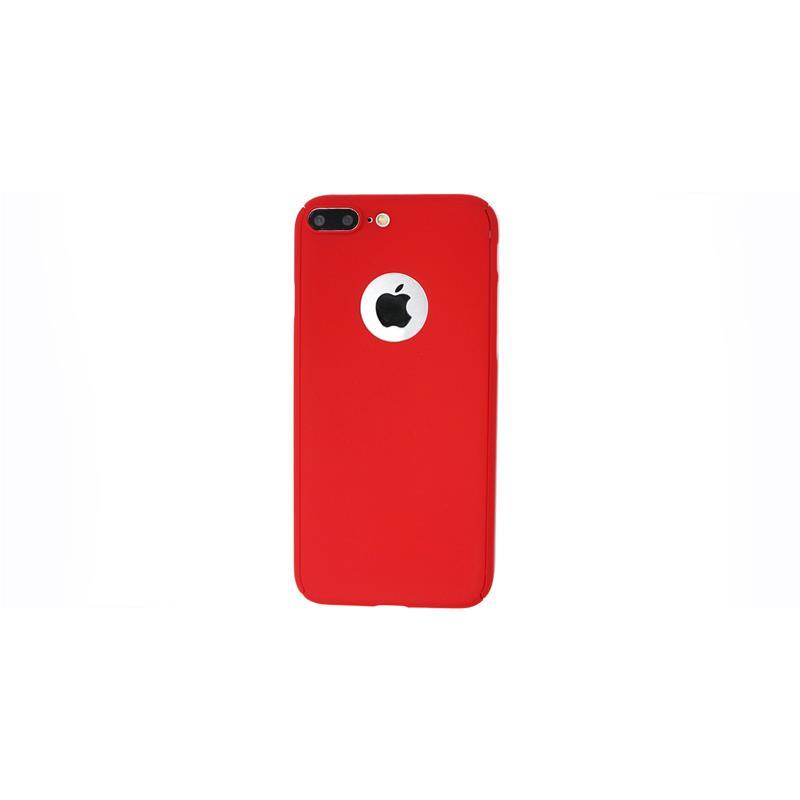 custodia iphone 7 plus 360 rosso