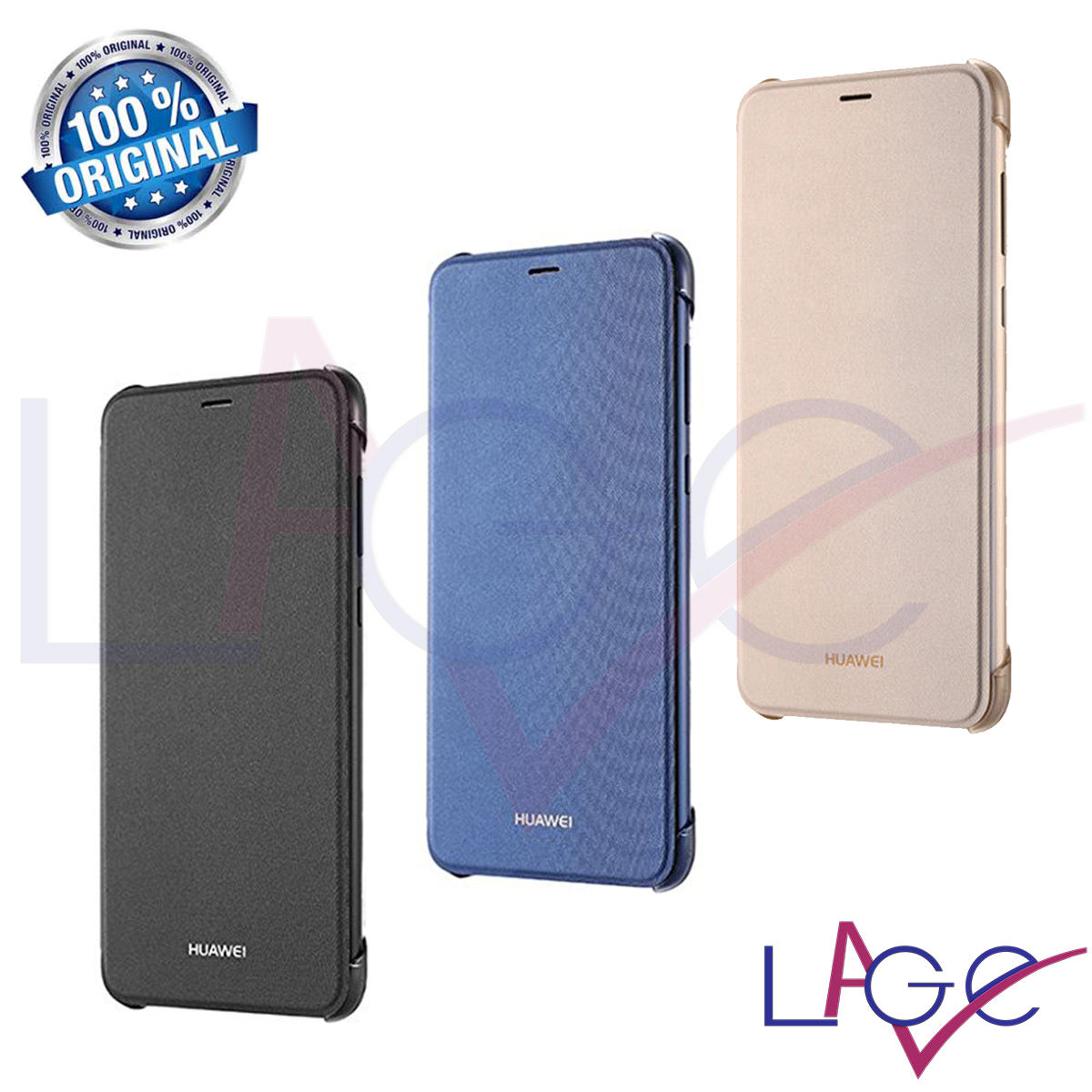 huawei custodia flip p smart