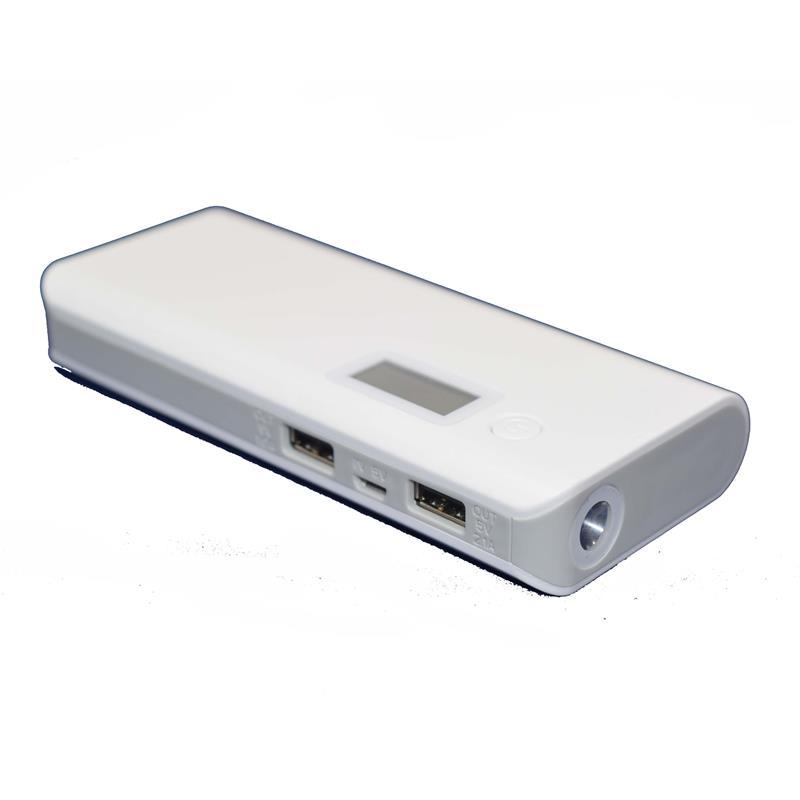 Power Bank 20000 mAh 4 connettori 2 USB Universale Samsung